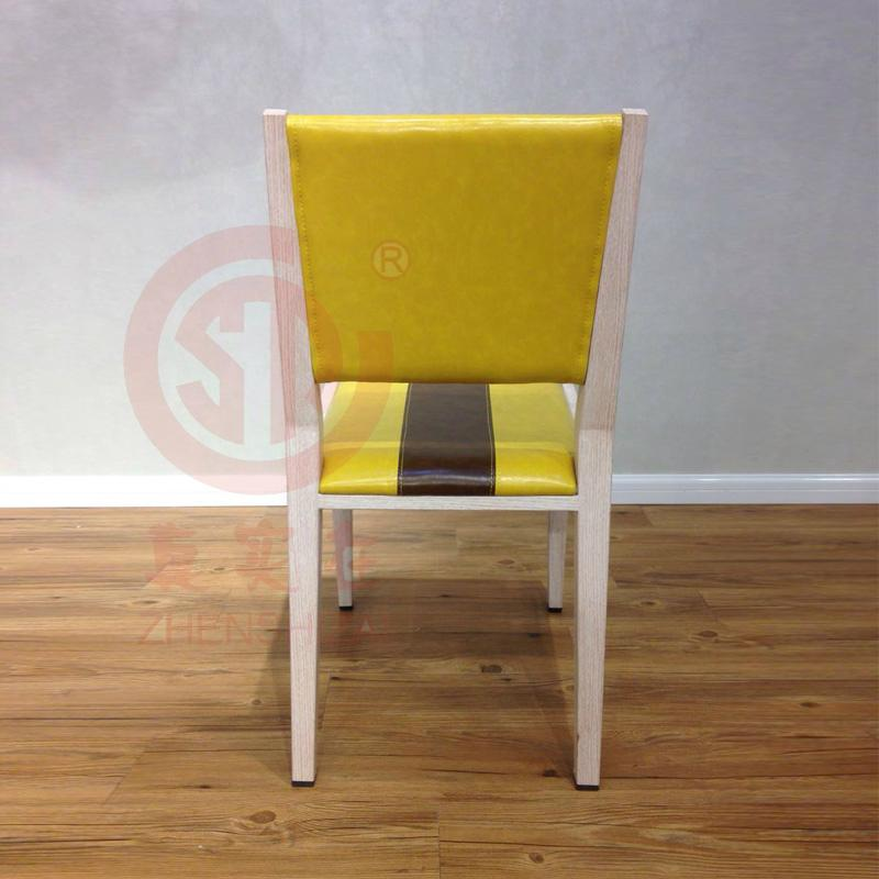 2017new style fresh PU leather dining chair 4