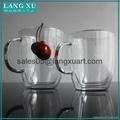 bulk glass coffee double wall mug 2