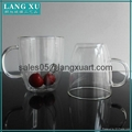 bulk glass coffee double wall mug 3