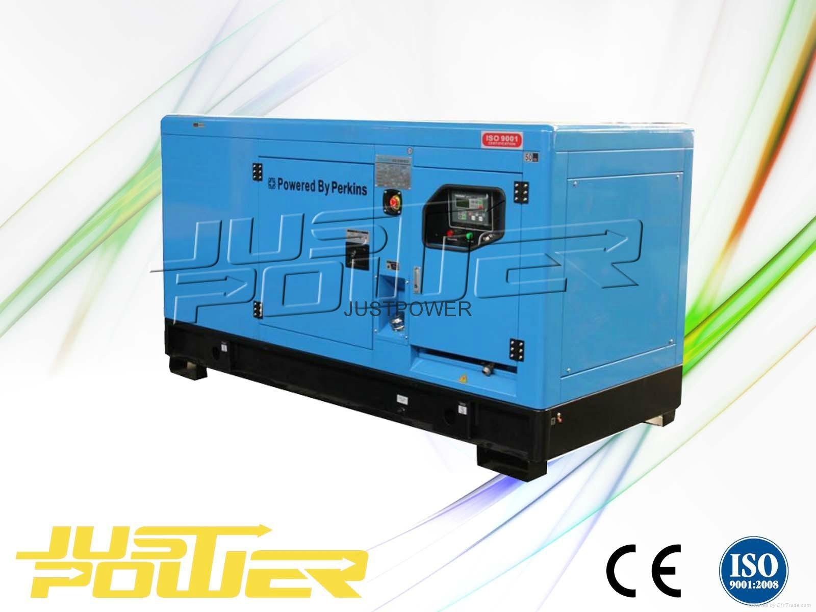 100kw silent sel generator set JUSTPOWER China Manufacturer