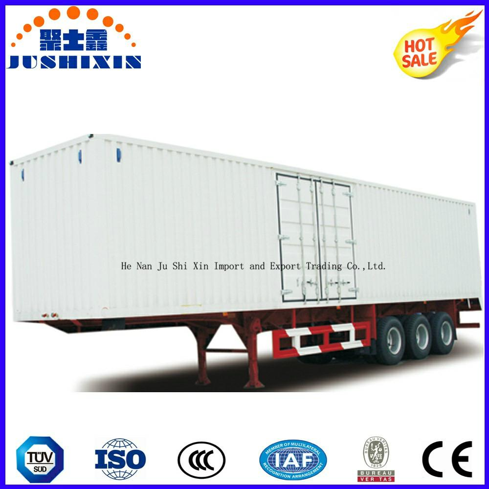 40-70 Tons Strong Cargo Van Type Box Utility Trailer 1