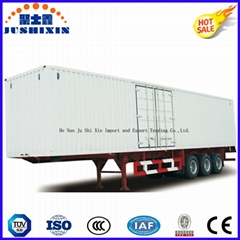 40-70 Tons Strong Cargo Van Type Box Utility Trailer