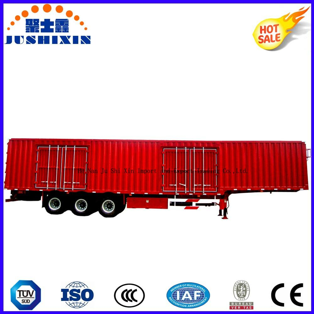 40-70 Tons Strong Cargo Van Type Box Utility Trailer 3