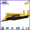 3 Axle 50t-80t Low Bed Drawbar Semi