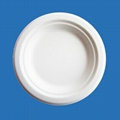 7 inch disposable white paper plate 3