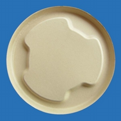 1000 ml soup bowl salad bowl lid bamboo pulp tableware disposable