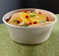 1000 ml soup bowl salad bowl lid bamboo pulp tableware disposable 3