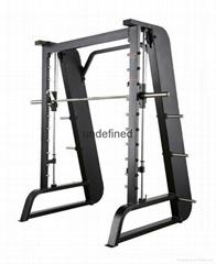 室內商用健身房史密斯自由深蹲訓練器優質管材製作廠家直銷