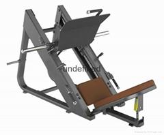 体育健身45度倒蹬机训练器BITW-厂家直销