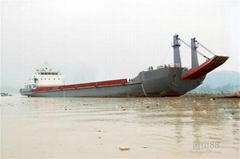 2000 deck barge