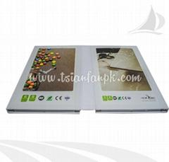 石英石塑料样品册
