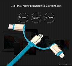 Cheap 3 in1 micro usb ca