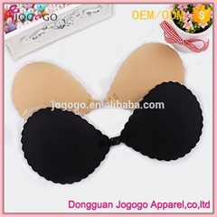 Guangdong wholesales seamless strapless backless adhesive bra factory