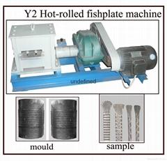 fishtail rolling machine