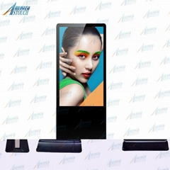 42'' media player digital advertising board with IR touchscreen
