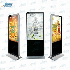 55'' media player digital advertising board with i5 CPU