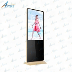 55'' media player digital advertising board with i7 CPU