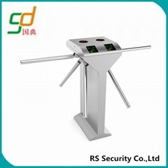 Card or Coin Collector Access Control System Tripod Turnstile with Discounted Pr