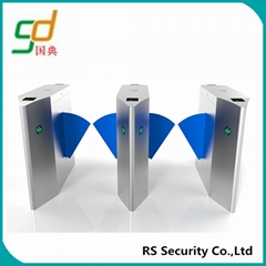 Full-auto Retractable Angle Design Flap Gate Barrier For Card or Coin Collector