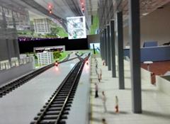 教學軌道交通沙盤模型