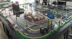 智能交通沙盤