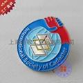 上海制作烤漆徽章 2
