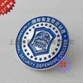 上海制作烤漆徽章 3