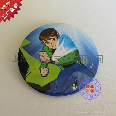 上海制作马口铁徽章 2