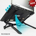 2016 Amazon most popular portable foldable plastic laptop stand  5