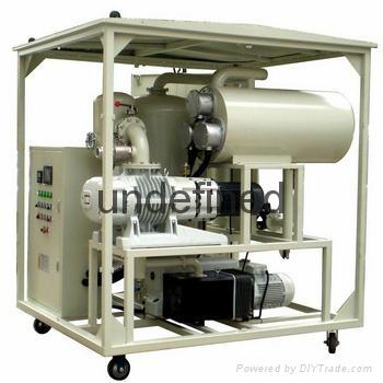 絕緣油雙級真空濾油機 1