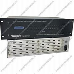 供應拓聲TS-HDMI1616 高清矩陣(帶藍光)