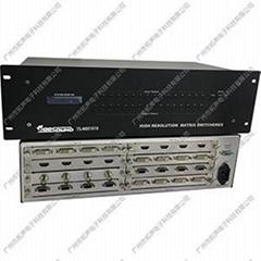 供应拓声TS-MIX1616 插卡式混合矩阵主机