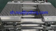 Air cooler for piston compressor air compressor cooler