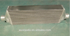 Plate bar heat exchanger