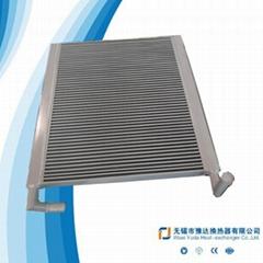 Oil cooler for wind power generator
