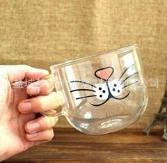 透明玻璃创意礼品杯