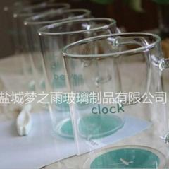 耐热高硼硅玻璃水杯