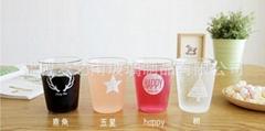 北欧几何系列灯工玻璃杯