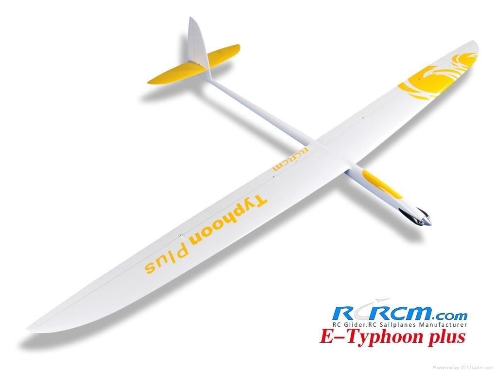 3m Typhoon rc glider of rcrcm 2