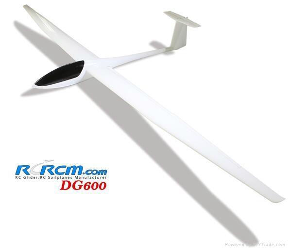 DG600 scale rc airplane of rcrcm 1