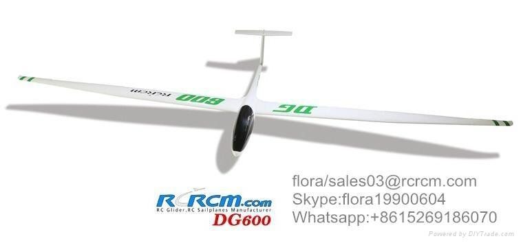 DG600 scale rc airplane of rcrcm 2