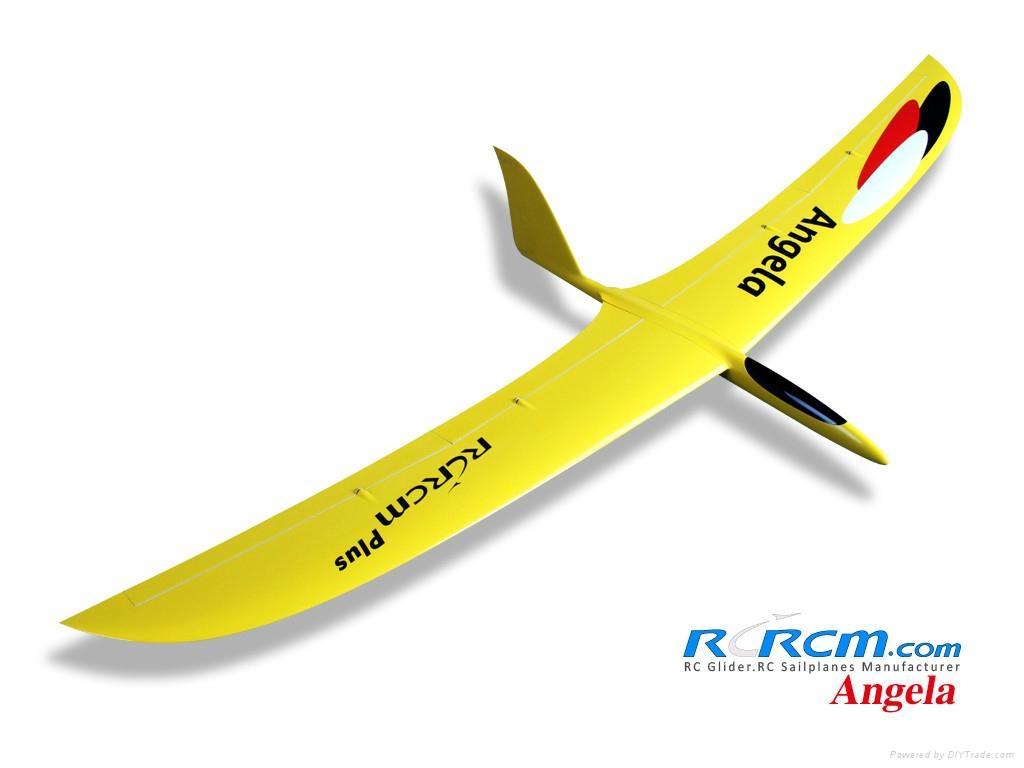 Angela composite rc glider of rcrcm 1