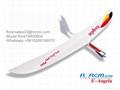 Angela composite rc glider of rcrcm 4