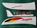 Angela composite rc glider of rcrcm 5