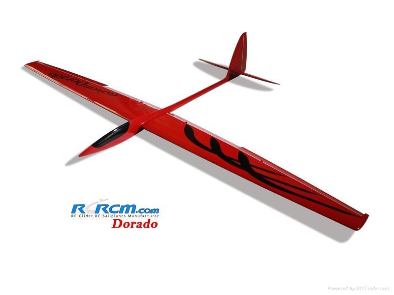 Dorado 2.34m aerobatic glider of rcrcm 1