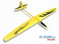 Dorado 2.34m aerobatic glider of rcrcm 2