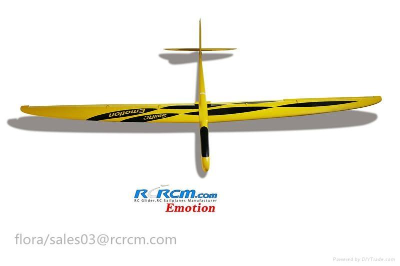 Emotion composite rc sailplane of rcrcm 1