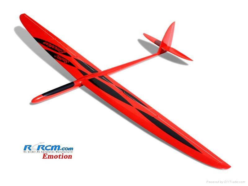 Emotion composite rc sailplane of rcrcm 2