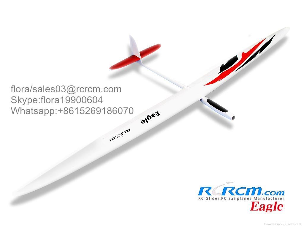 Eagle F5J composite rc glider of rcrcm 1