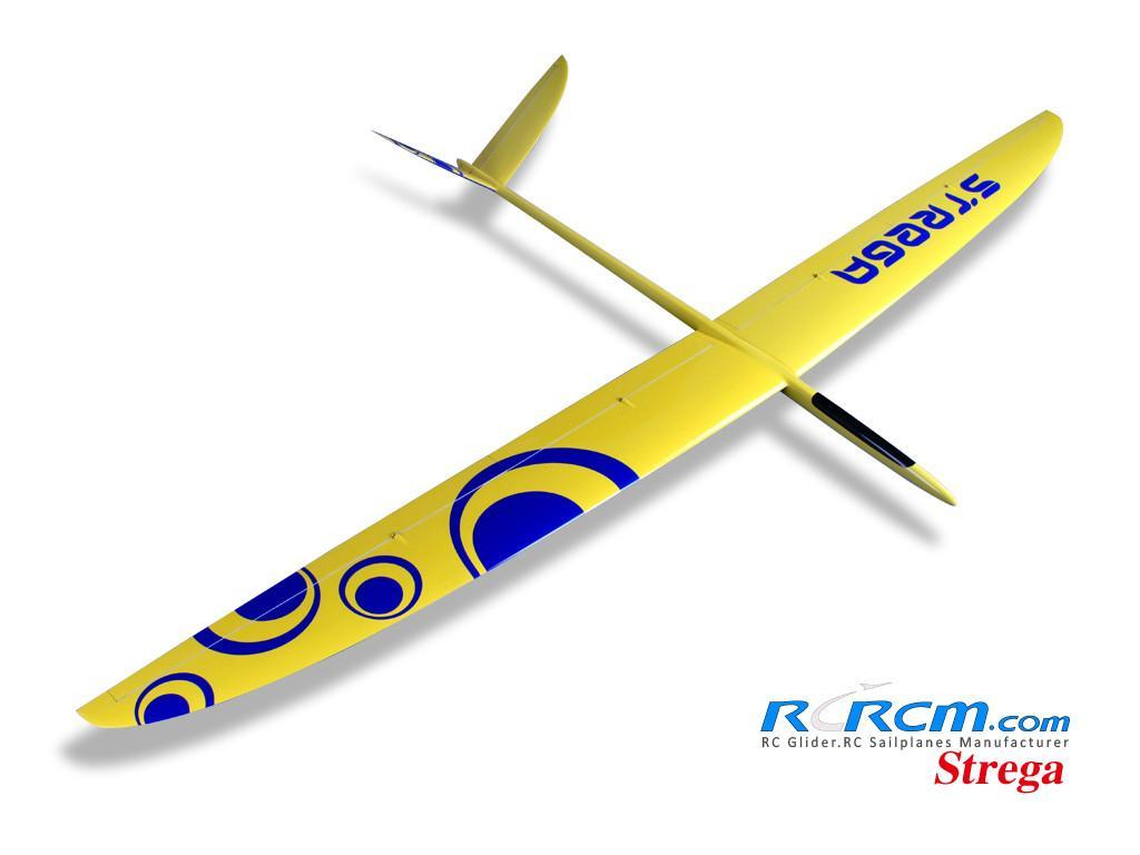 Strega 2.9m wingspan rc glider model  2